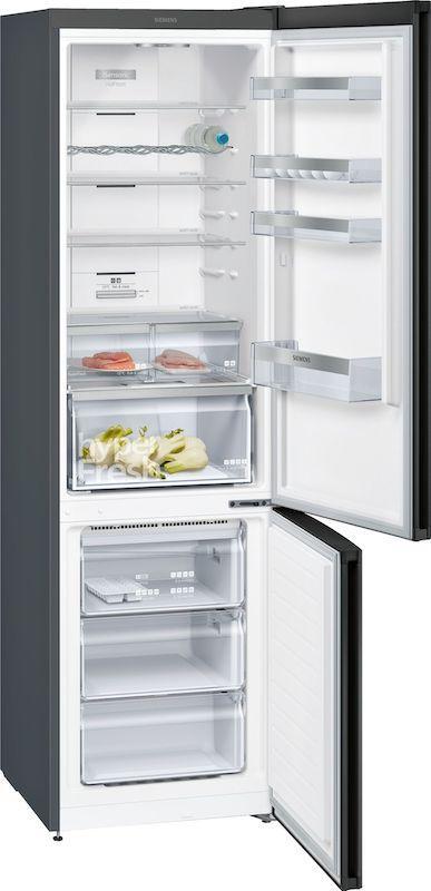 Siemens KG39N7XEDG Black Stainless Steel Frost Free Fridge Freezer