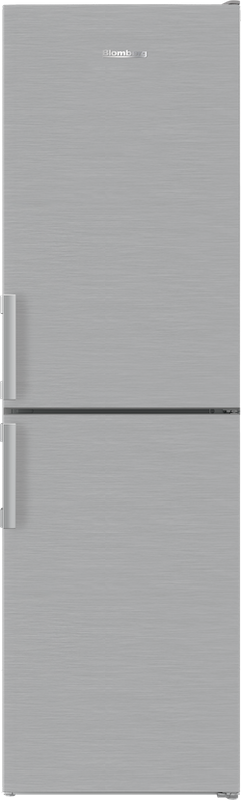 Blomberg KGM4553PS 54cm Stainless Steel Frost Free Fridge Freezer