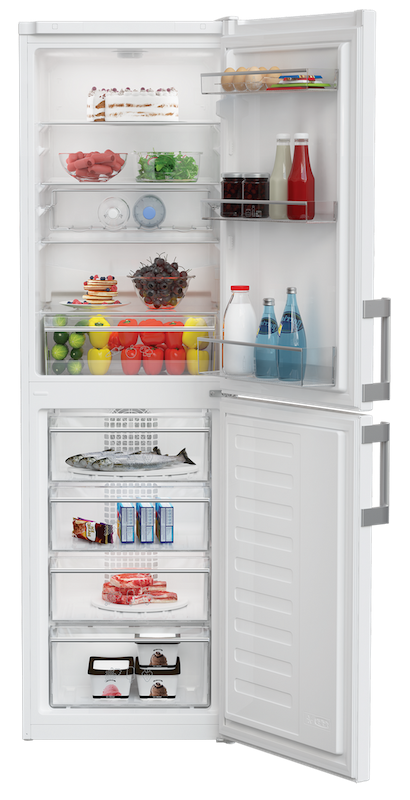 Blomberg KGM4553 54cm Frost Free Fridge Freezer