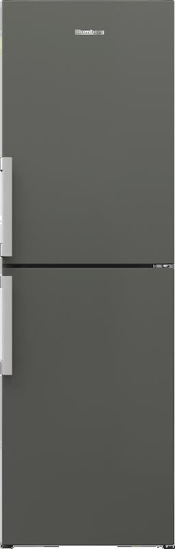 Blomberg KGM4663G 60cm Graphite Frost Free Fridge Freezer