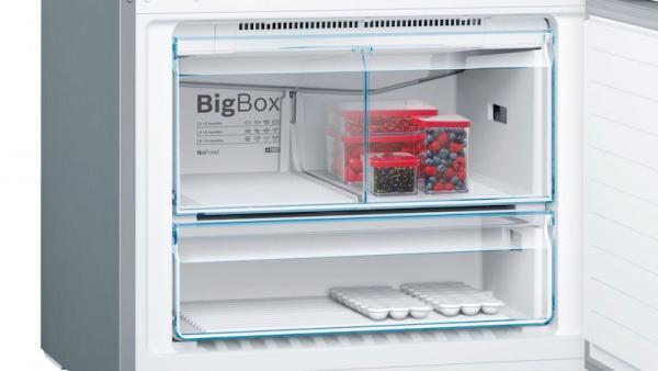Bosch KGN86AIDP 86cm Frost Free Fridge Freezer