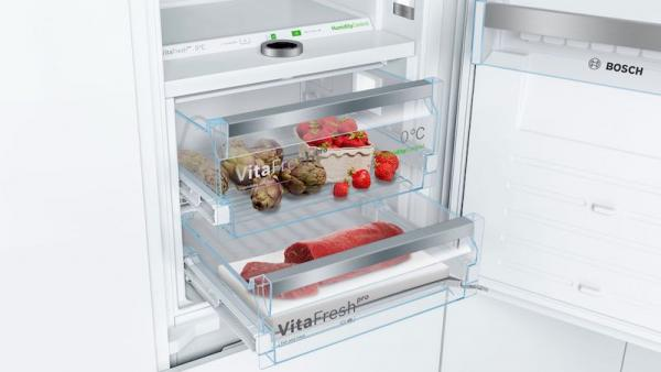 Bosch KIF86PFE0 Integrated 70/30 Frost Free Fridge Freezer