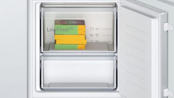 Bosch KIV87NSF0G Integrated 70/30 LowFrost Fridge Freezer