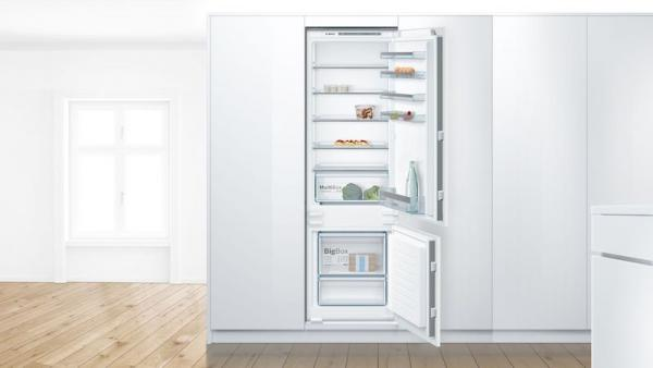 Bosch KIV87VSF0G Integrated 70/30 LowFrost Fridge Freezer