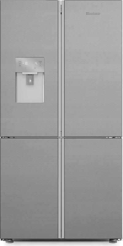 Blomberg KQD1327PX American Style Side by Side Fridge Freezer