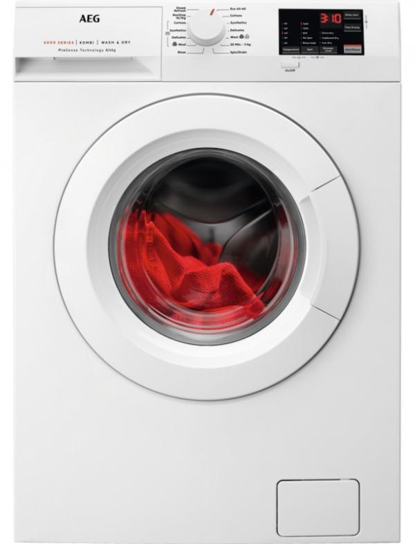AEG L6WEJ841N 8/4kg Washer Dryer