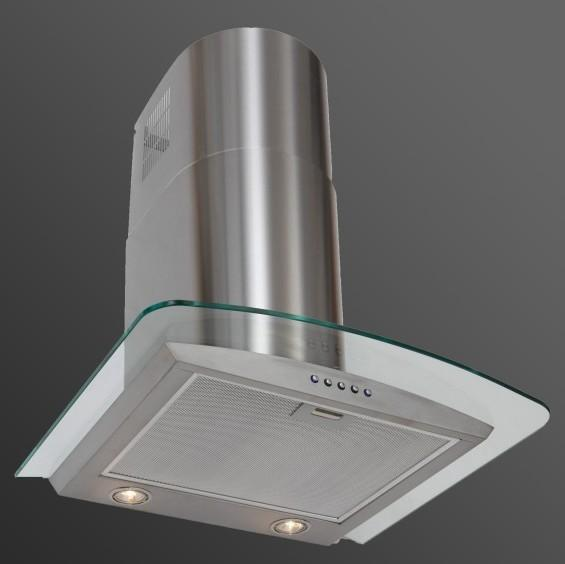 Luxair LA-90-CVD-GL-SS 90cm Curved Glass Chimney Hood (Cancelled Order)