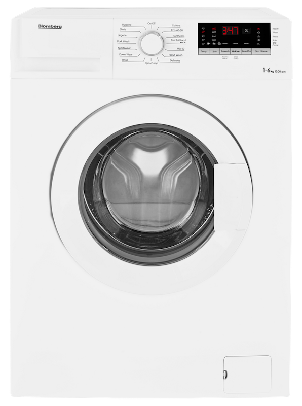 Blomberg LBF16230W Slim Depth Washing Machine
