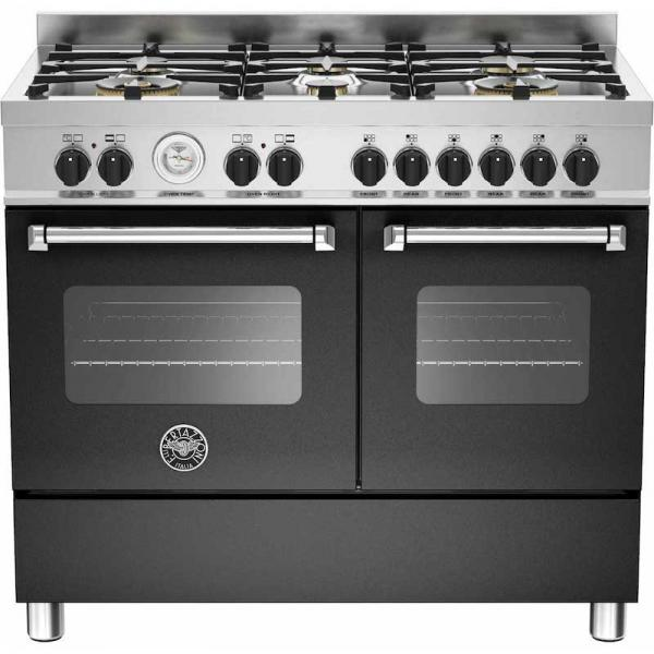 Bertazzoni MAS100-6-MFE-D-NEE 100cm Master Dual Fuel Range Cooker