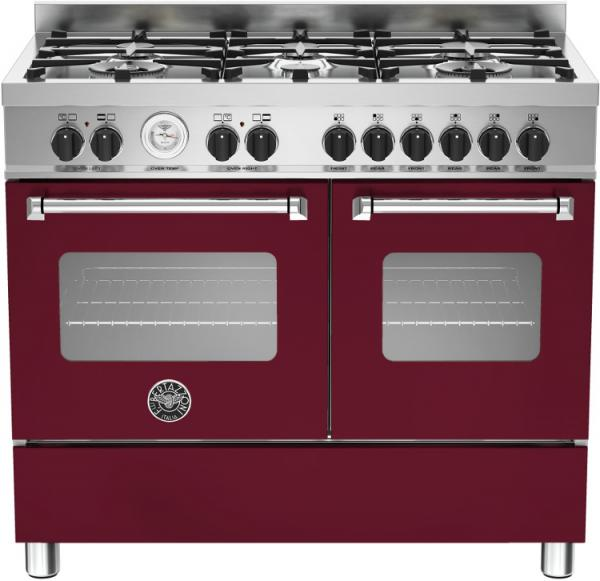 Bertazzoni MAS100-6-MFE-D-VIE 100cm Master Dual Fuel Range Cooker