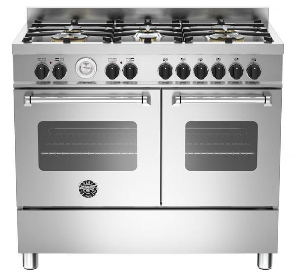 Bertazzoni MAS100-6-MFE-D-XE 100cm Master Dual Fuel Range Cooker