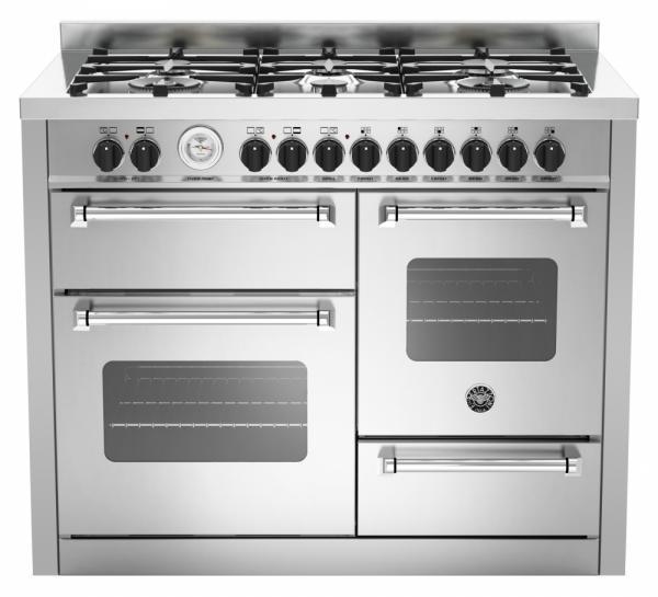 Bertazzoni MAS1106MFETXE 110 cm Dual Fuel Range Cooker