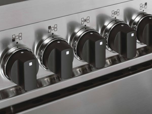 Bertazzoni MAS60-4-MFE-S-NEE Master 60cm Black Dual Fuel Cooker