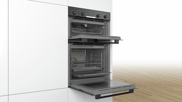 Bosch MBS533BB0B Built-In Double Oven