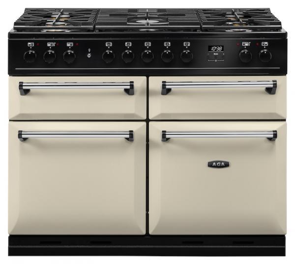 AGA MDX110DFCRM Masterchef Deluxe 110cm Cream Dual Fuel Range Cooker