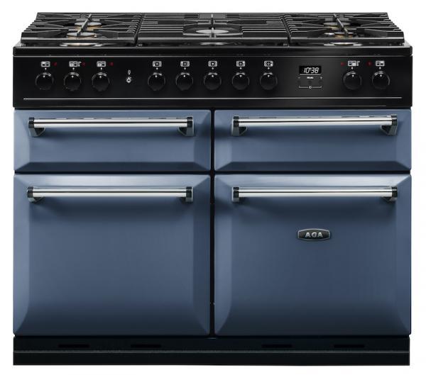 AGA MDX110DFDAR Masterchef Deluxe 110cm Dartmouth Blue Dual Fuel Range Cooker