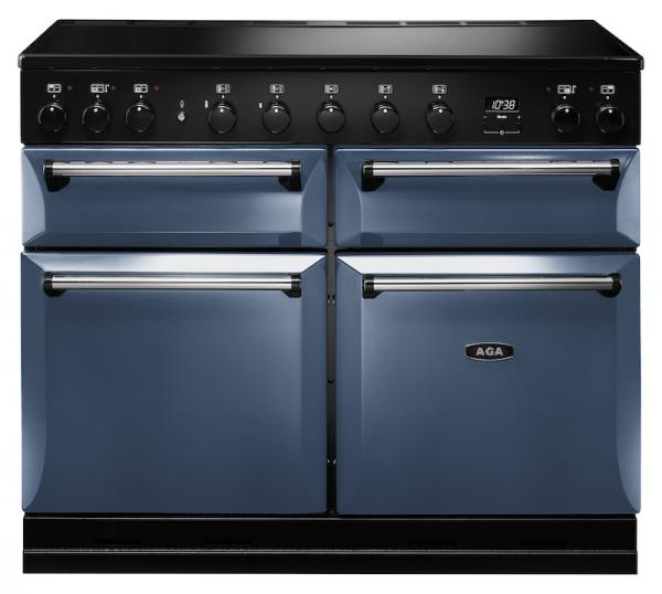 AGA MDX110EIDAR Masterchef Deluxe 110cm Dartmouth Blue Induction Range Cooker