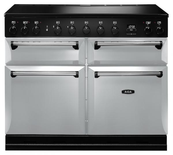 AGA MDX110EIPAS Masterchef Deluxe 110cm Pearl Ashes Induction Range Cooker