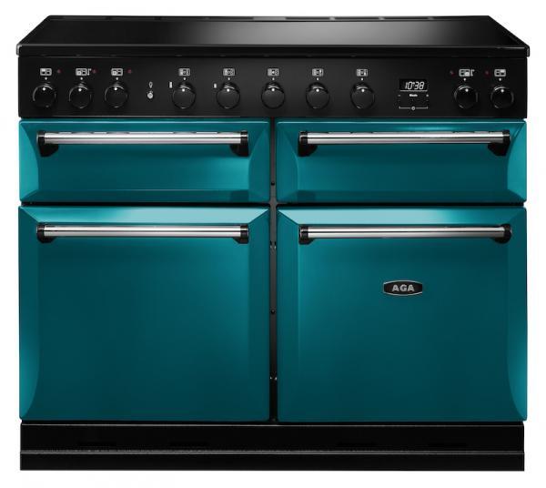 AGA MDX110EISAL Masterchef Deluxe 110cm Salcombe Blue Induction Range Cooker