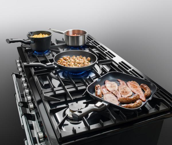 AGA MDX90DFPWT Masterchef Deluxe 90cm Pewter Dual Fuel Range Cooker