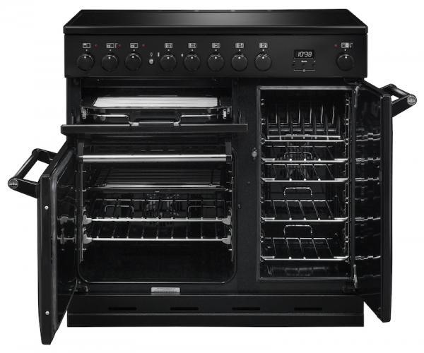 AGA MDX90EIBLK Masterchef Deluxe 90cm Black Induction Range Cooker