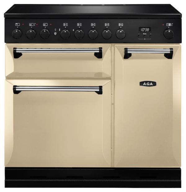 AGA MDX90EICRM Masterchef Deluxe 90cm Cream Induction Range Cooker