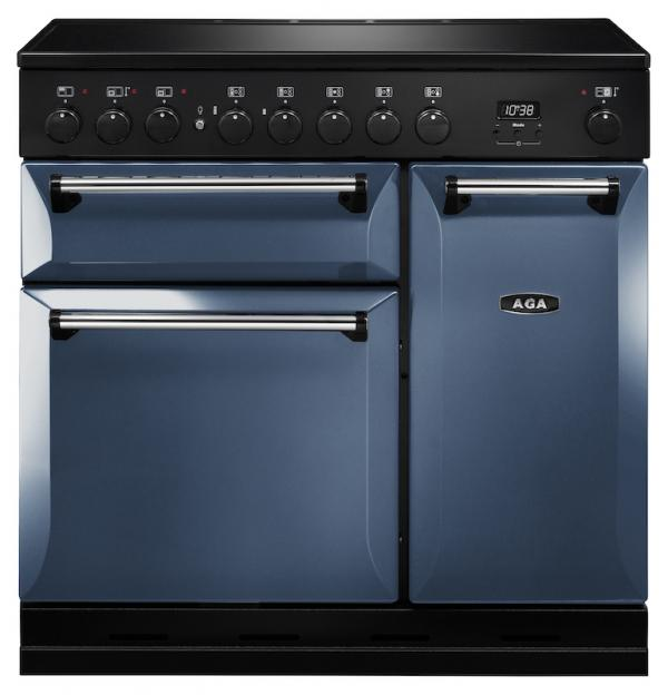 AGA MDX90EIDAR Masterchef Deluxe 90cm Dartmouth Blue Induction Range Cooker