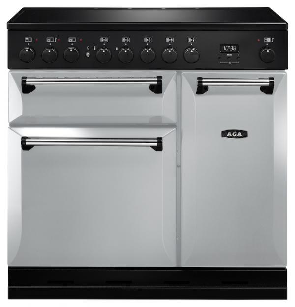 AGA MDX90EIPAS Masterchef Deluxe 90cm Pearl Ashes Induction Range Cooker