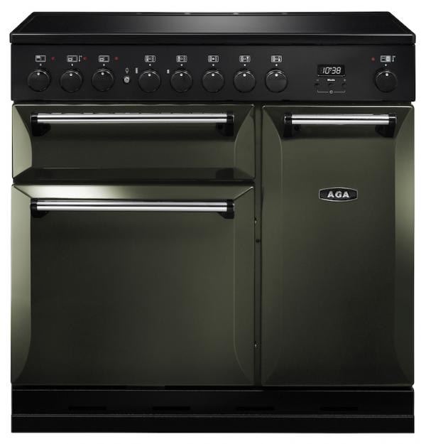 AGA MDX90EIPWT Masterchef Deluxe 90cm Pewter Induction Range Cooker