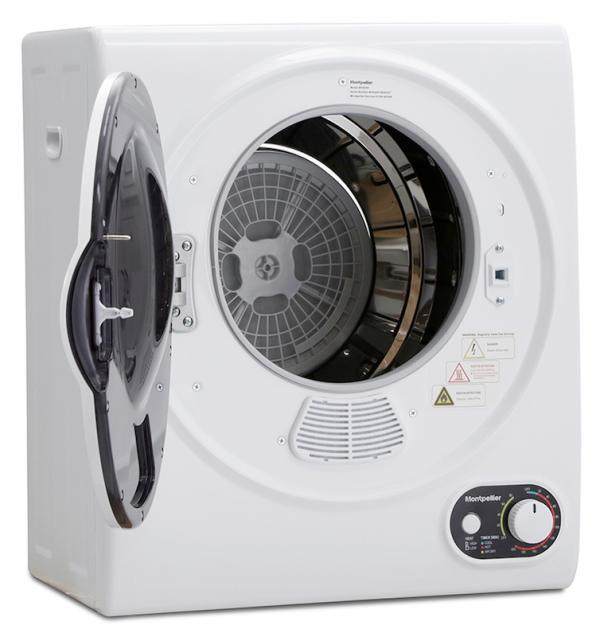 Montpellier MTD25P Compact Vented Tumble Dryer