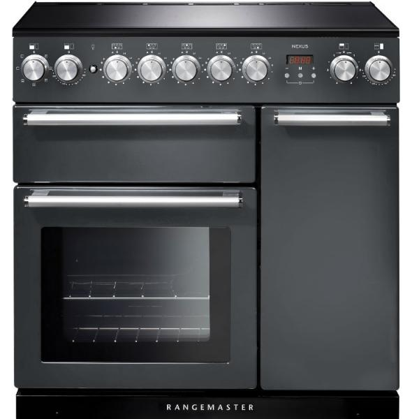 Rangemaster NEX90EISL/C 106180 Nexus 90cm Slate Induction Range Cooker