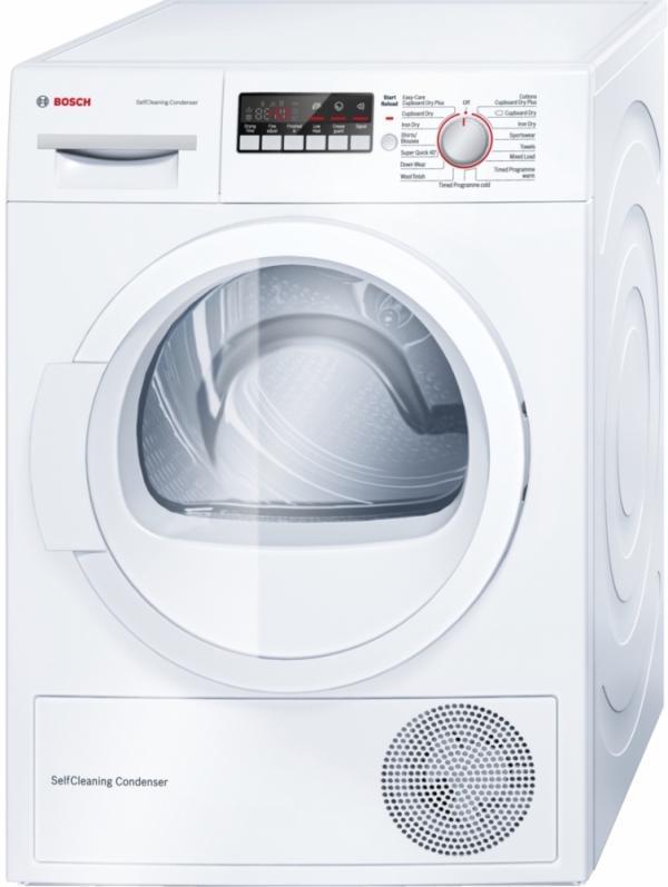 Bosch WTW85260GB Heat Pump Condenser Tumble Dryer