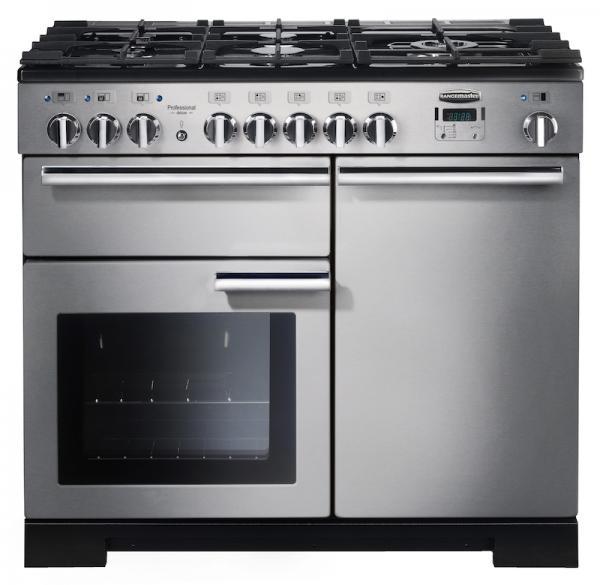 Rangemaster PROP100DFFSS/C 92590 Professional+ 100cm Dual Fuel Range Cooker (Cancelled Order)