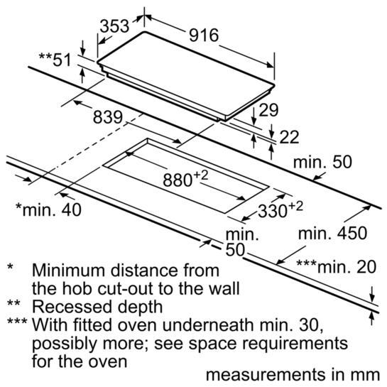 Bosch PXX275FC1E 90cm FlexInduction Hob