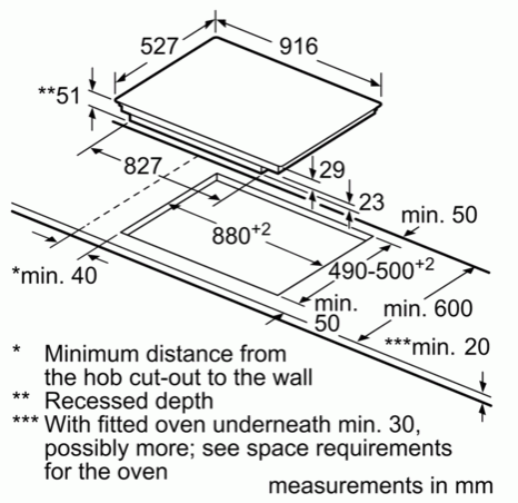 Bosch PXX975KW1E 90cm Induction Hob
