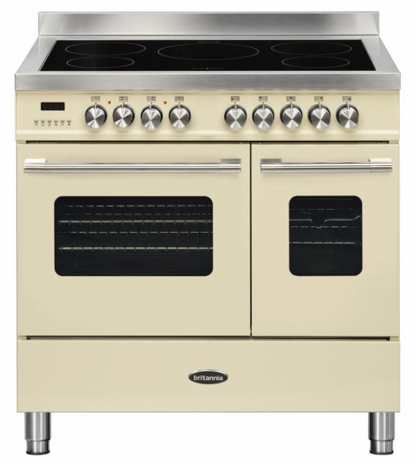 Britannia RC-9TI-DE-CR 544440751 Delphi 90cm Cream Induction Range Cooker
