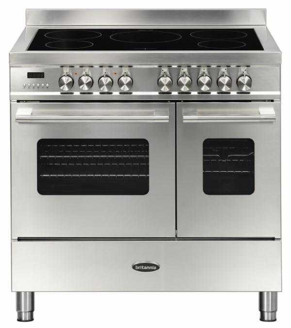 Britannia RC-9TI-DE-S 544440155 Delphi 90cm Stainless Steel Induction Range Cooker