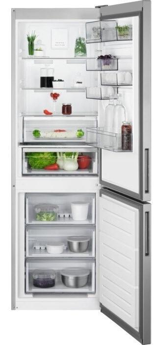 AEG RCB632E4MX 186cm Frost Free Fridge Freezer