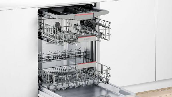 Bosch SBE46NX01G Extra Height Fully Integrated Dishwasher
