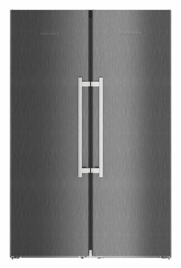 Liebherr SBSBS 8673 / SBSBS8673 American Style Side by Side Frost Free Fridge Freezer (EX DISPLAY)
