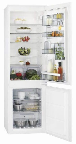 AEG SCB6182VNS Integrated Frost Free Fridge Freezer