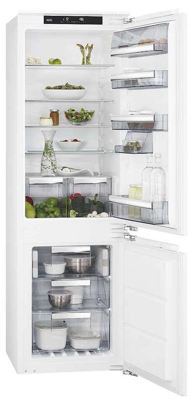 AEG SCE8182XNC Integrated 70/30 Frost Free Fridge Freezer