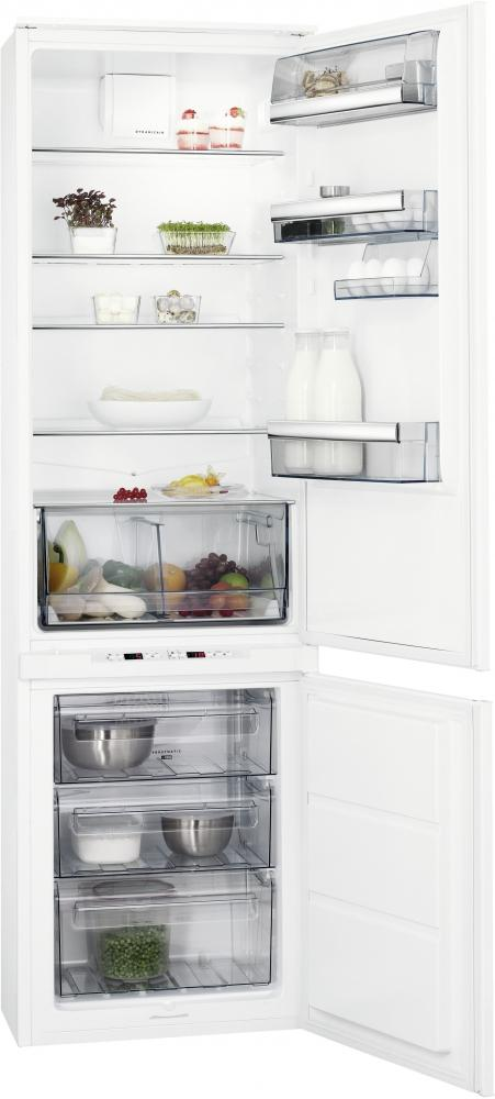 AEG SCE81911TS Integrated 70/30 Extra Height Fridge Freezer