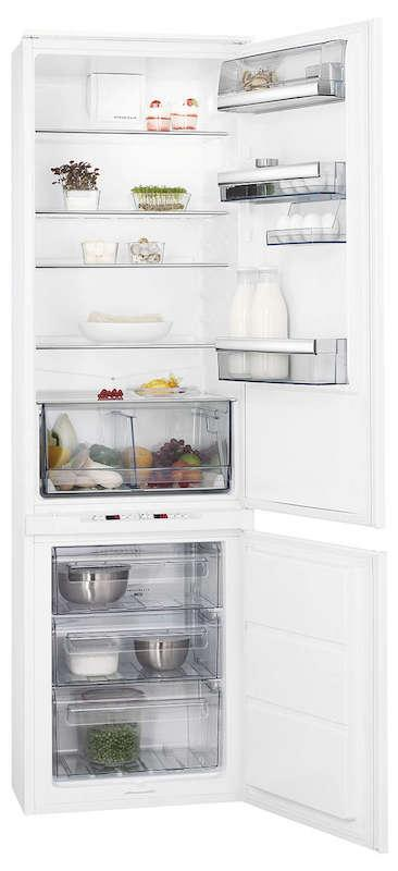 AEG SCE8191VTS Integrated 70/30 Extra Height Frost Free Fridge Freezer