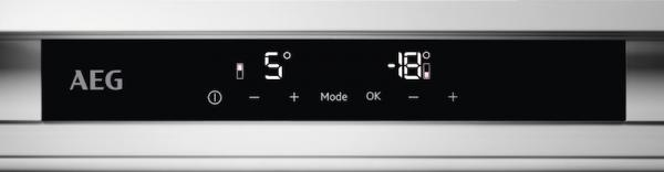 AEG SCE81925TS Integrated 70/30 Extra Height Frost Free Fridge Freezer