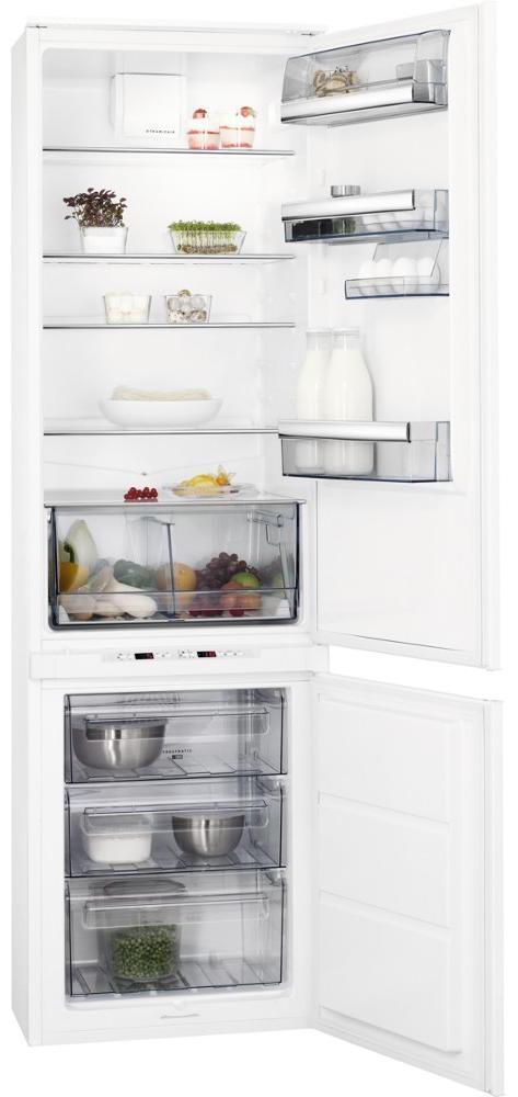 AEG SCE8192VTS Integrated 70/30 Extra Height Frost Free Fridge Freezer