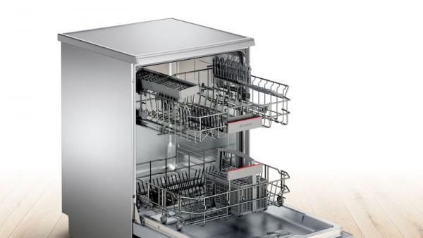 Bosch SMS46II01G 60cm Silver Dishwasher