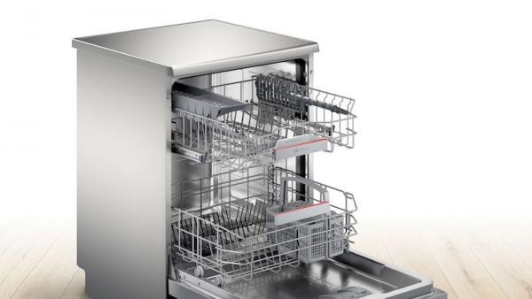 Bosch SMS4HAI40G 60cm Silver Dishwasher