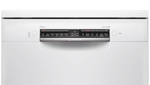 Bosch SMS4HAW40G 60cm White Dishwasher