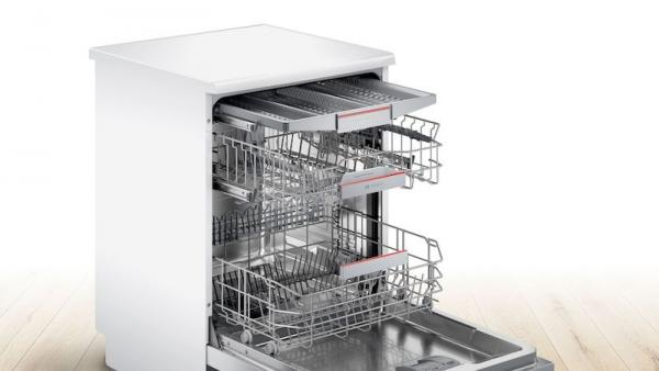 Bosch SMS4HCW40G 60cm White Dishwasher